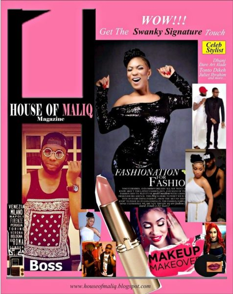Sean Tizzle & Abbyke Domina in House of Maliq - July - 2014 - BellaNaija017