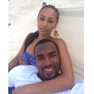 Serge Ibaka & Keri Hilson - July 2014 - BellaNaija.com 01