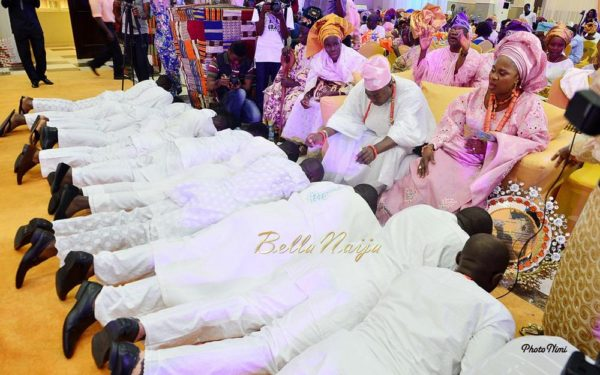 Sisi Yemmie & Bobo Yemi | My Big Nigerian Wedding | Lagos Nigerian Yoruba Itsekiri | BellaNaija 0006