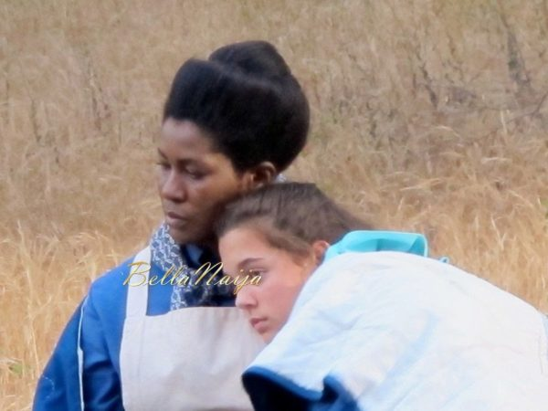 Stephanie Linus on the Set on Boonville Redemption - July 2014 - BellaNaija.com 01023
