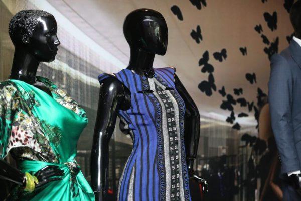 Storefront display Ejiro Amos Tafiri