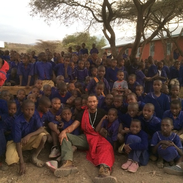Terrence Jenkins in Tanzania - July 2014 - BellaNaija.com 012