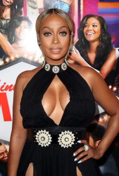 La La Anthony in Alexander McQueen