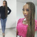 Toke Makinwa Rocks Super Long Braids - July 2014 - BN Beauty - BellaNaija.com 01