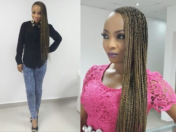 Toke Makinwa Rocks Super Long Braids - July 2014 - BN Beauty - BellaNaija.com 01