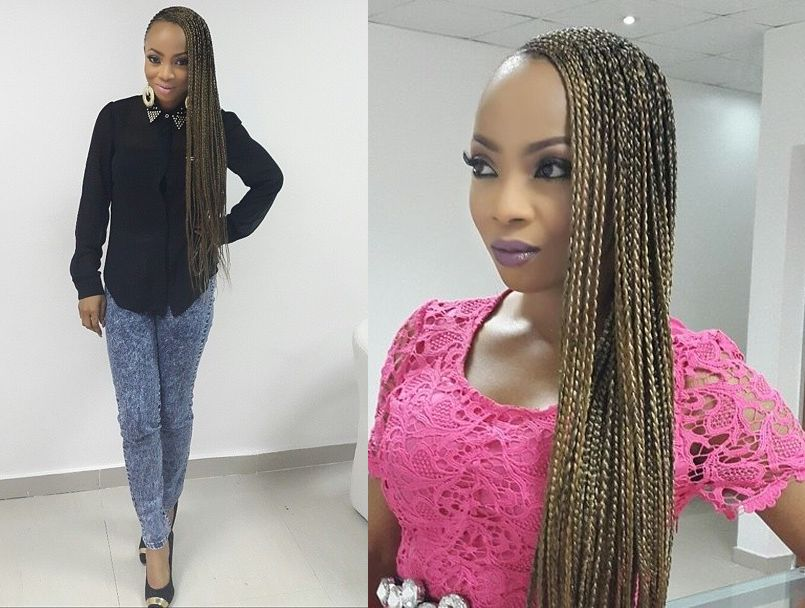Toke Makinwa Rocks Super Long Braids July Bn Beauty Bellanaija Com 01 Beyonce Tiwa Savage