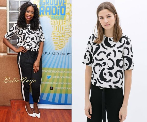 Waliyah in ZARA - BN Style - July 2014 - BellaNaija.com 01