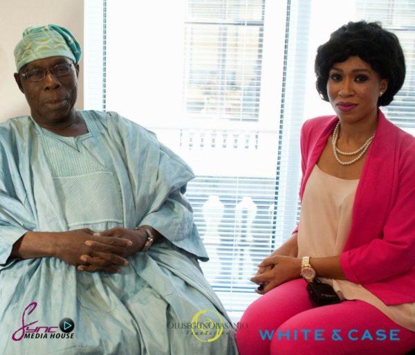 Olusegun Obasanjo & Franny Opah