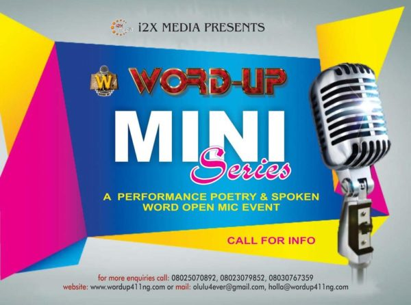 Word Up Mini Series - Events This Weekend  - July 2014 - BellaNaija.com 01