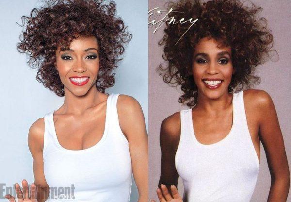 Yaya DaCosta as Whitney Houston - July 2014 - BellaNaija.com