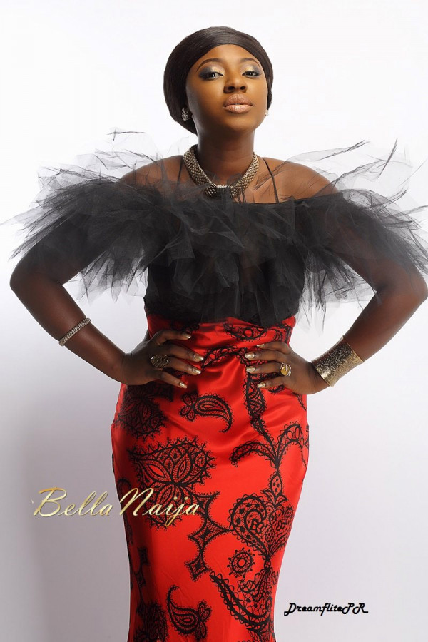 "Remember Her from 2Face's ""African Queen""? See Nollywood Starlet Yvonne Jegede's Glam Shoot"