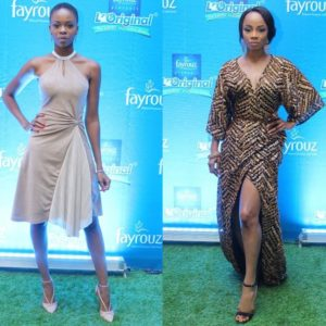 Zainab Balogun in Clan & Toke Makinwa in Frock It Rock It -  July 2014 - BellaNaija Style - BellaNaija.com