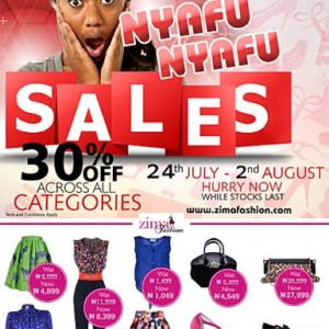 Zima Fashion Sales - Bellanaija - July2014
