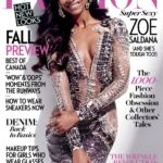 Zoe Saldana Fashion Magazine Canada Cover - Bellanaija - July2014