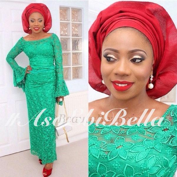 asoebibella aso ebi asoebi 2014 styles outfit by @topefnr, makeup by @beautyboudoir_l
