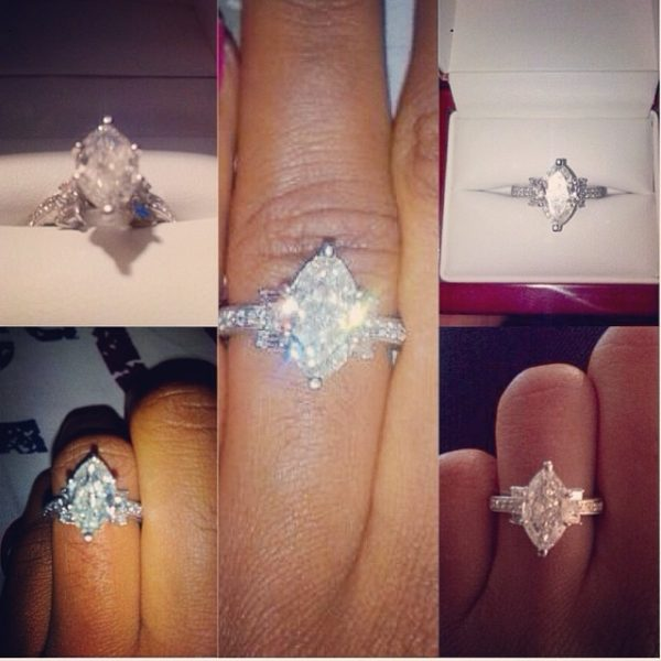 marquise cut engagement ring - jude okoye