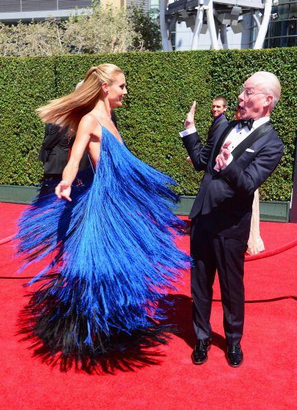 Heidi Klum & Tim Gunn