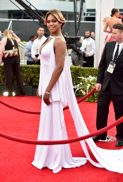 Laverne Cox in Marc Bower