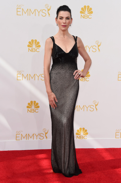 Julianne Margulies in Narciso Rodriguez