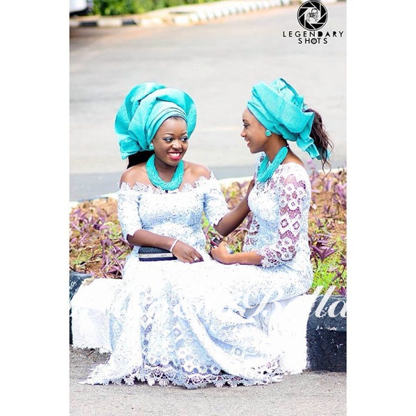 @i_royale & @gracedame, photo by @callmekoldre.aso ebi bella, asoebi,