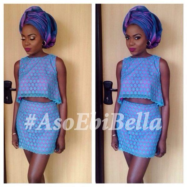 @saeonmusic, makeup by @tennycoco, outfit by @buttercupabee, aso ebi, asoebi, asoebibella