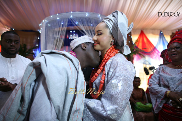 Adunola & Bode's Traditional Yoruba Wedding in Lagos, Nigeria | DuduGuy Photography | BellaNaija 0033