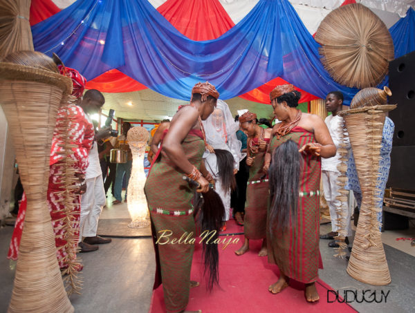 Adunola & Bode's Traditional Yoruba Wedding in Lagos, Nigeria | DuduGuy Photography | BellaNaija 0075