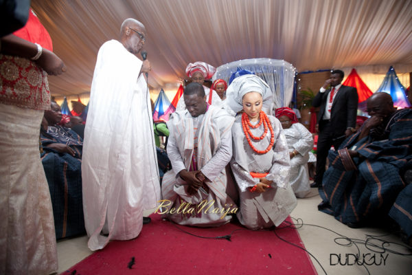 Adunola & Bode's Traditional Yoruba Wedding in Lagos, Nigeria | DuduGuy Photography | BellaNaija 0087