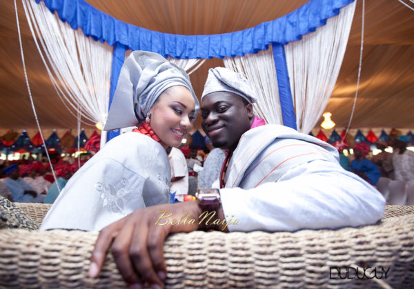 Adunola & Bode's Traditional Yoruba Wedding in Lagos, Nigeria | DuduGuy Photography | BellaNaija 0091