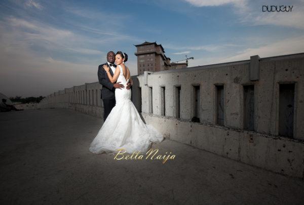 Adunola & Bode's White Wedding in Lagos, Nigeria | DuduGuy Photography | BellaNaija 0027
