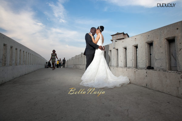 Adunola & Bode's White Wedding in Lagos, Nigeria | DuduGuy Photography | BellaNaija 0028