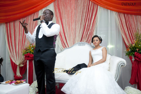 Adunola & Bode's White Wedding in Lagos, Nigeria | DuduGuy Photography | BellaNaija 0050