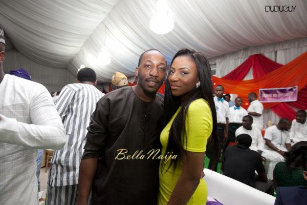 Adunola & Bode's White Wedding in Lagos, Nigeria | DuduGuy Photography | BellaNaija 0069