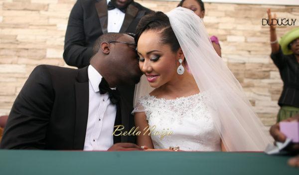 Adunola & Bode's White Wedding in Lagos, Nigeria | DuduGuy Photography | BellaNaija 0112