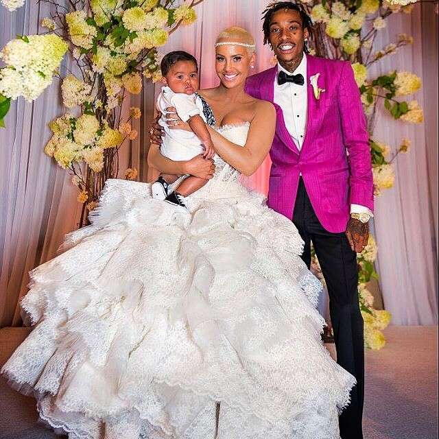 Amber Rose & Wiz Khalifa - August 2014 - BN Relationships - BellaNaija.com 01