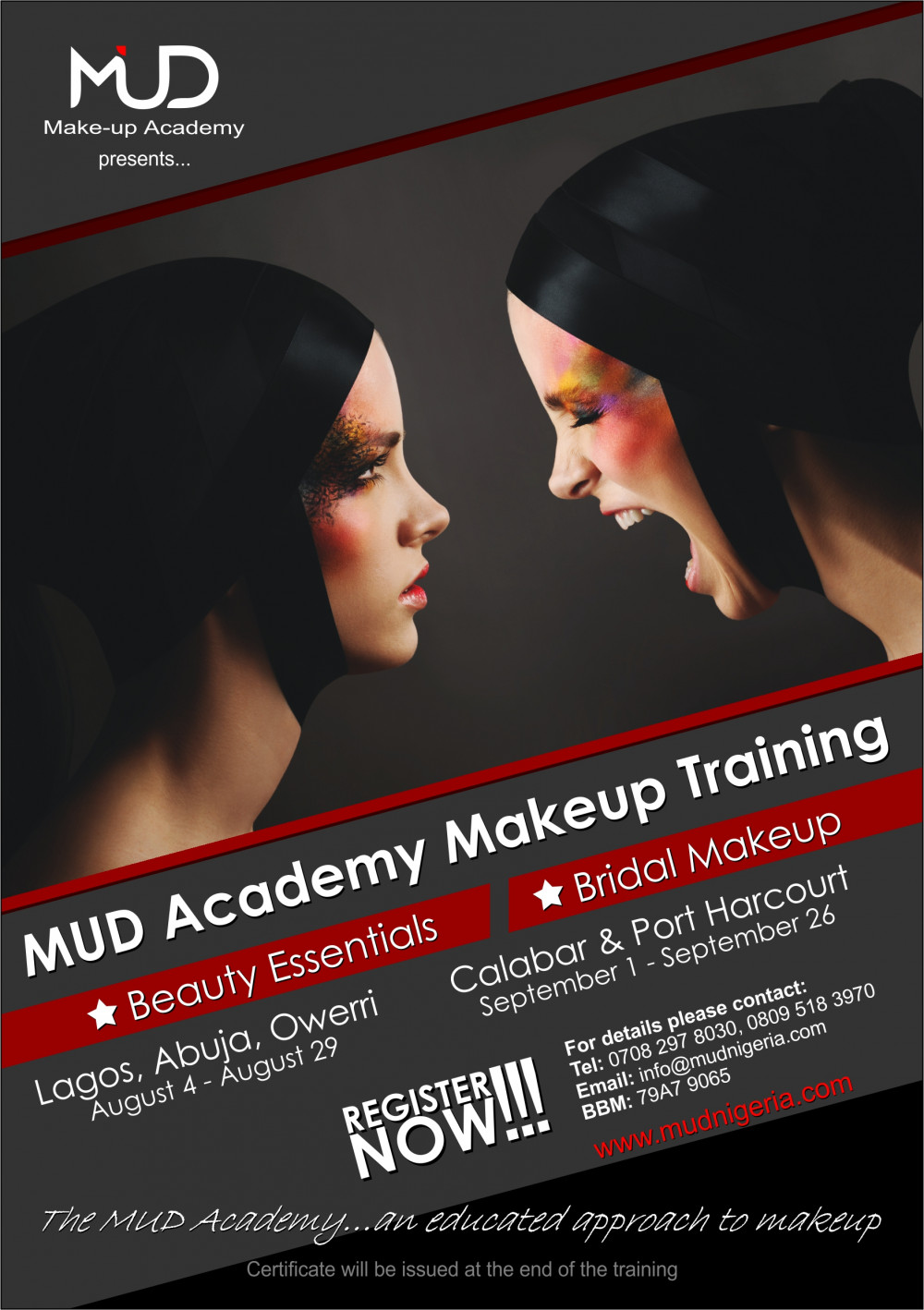 Get Over 30 Discount On Tuition Fees For Mud Academy Make Up