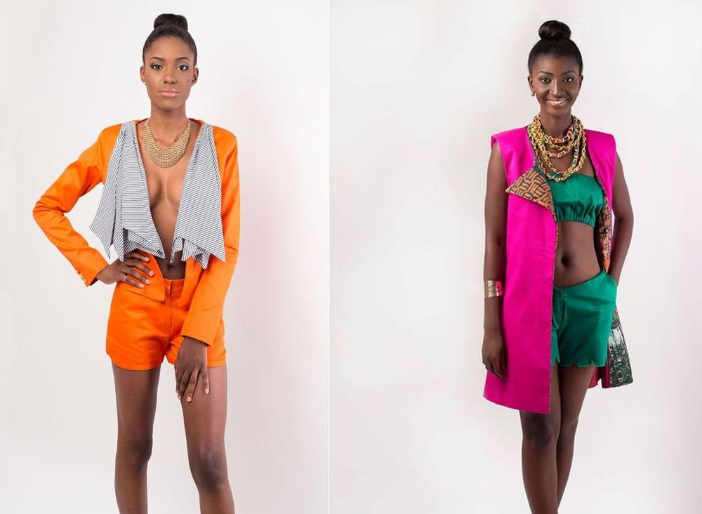 """2 Pieces from the Aya Morrison """"Dahlia"""" Collection 2014"""