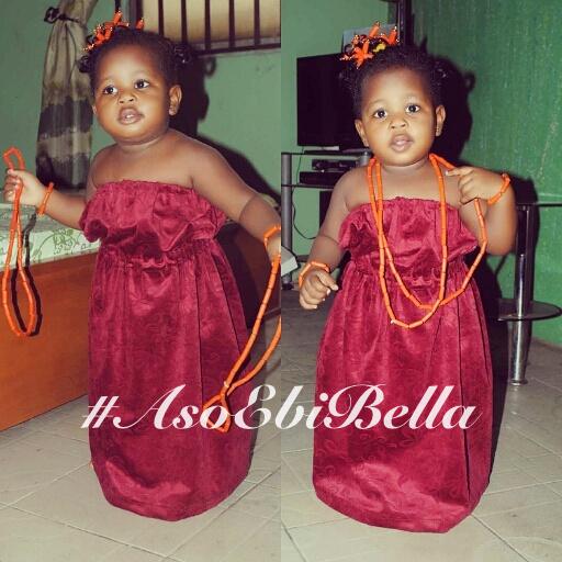 Baby Ella., aso ebi, asoebi, asoebibella.093
