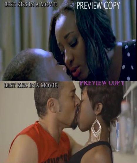 Best Kiss - Best of Nollywood Awards 2014 - August 2014 - BN Movies & TV - BellaNaija.com 01