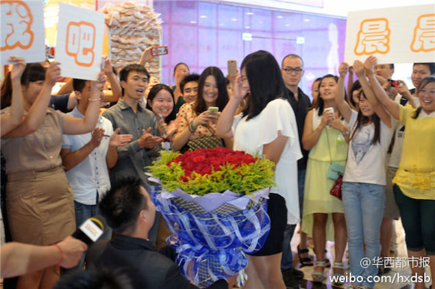 Chinese Man proposes - August 2014 - BN Relationships - BellaNaija.com 03