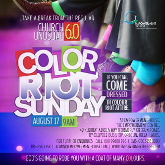Color Riot Sunday - August 2014 - Events This Weekend - BellaNaija.com 01