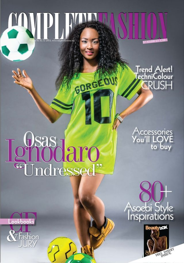Teamnigeria Osas Ighodaro Ebuka Obi Uchendu Cover Complete Fashion Mag 39 S New Issue Bellanaija