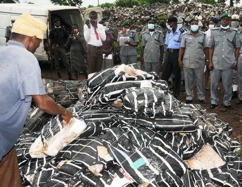Customs Seize goods Bella Naija