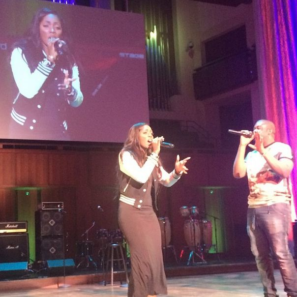 Tiwa Savage & Don Jazzy