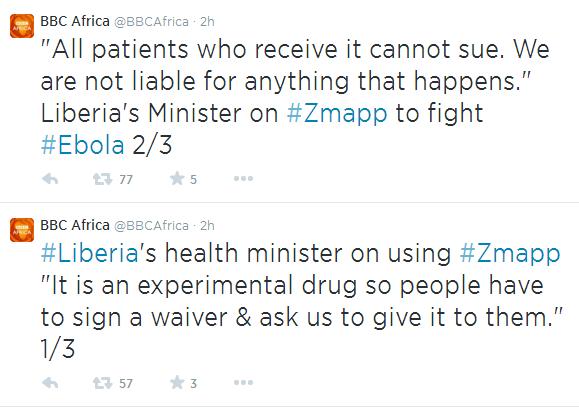 Ebola Waiver