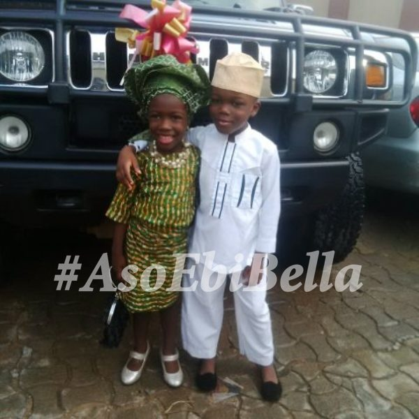 Eniola and Ayobami, aso ebi, asoebi, asoebibella