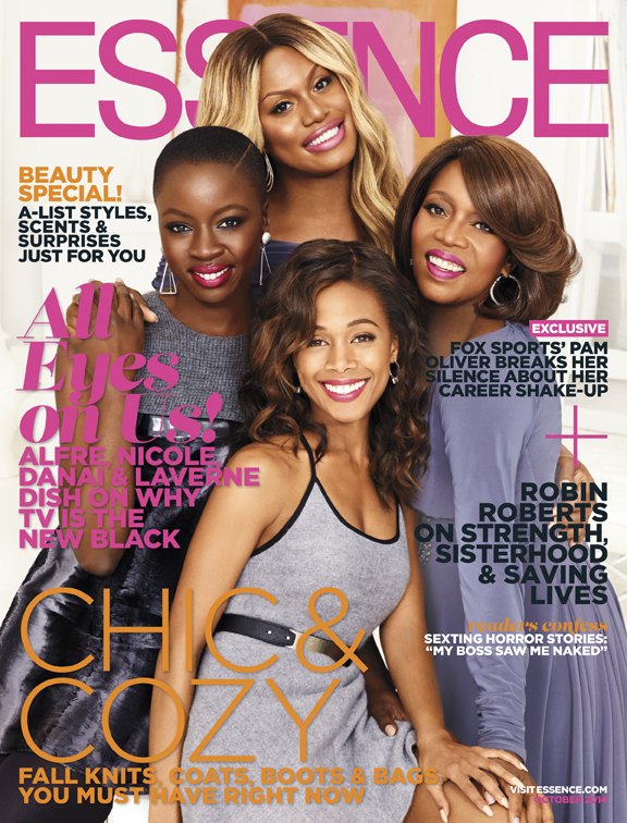 Essence October 2014 Cover