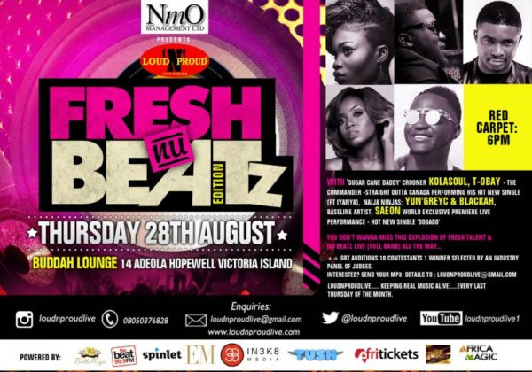 Fresh Nu Beatz - August 2014 - BN Events - BellaNaija.com 01