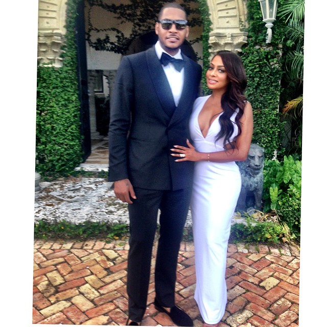 The new basketball wife gabrielle union and dwyane wade are carmelo lala anthony junglespirit Images