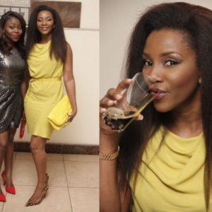 Genevieve Nnaji in Halston Heritage - August 2014 - BN Style - BellaNaija.com 01